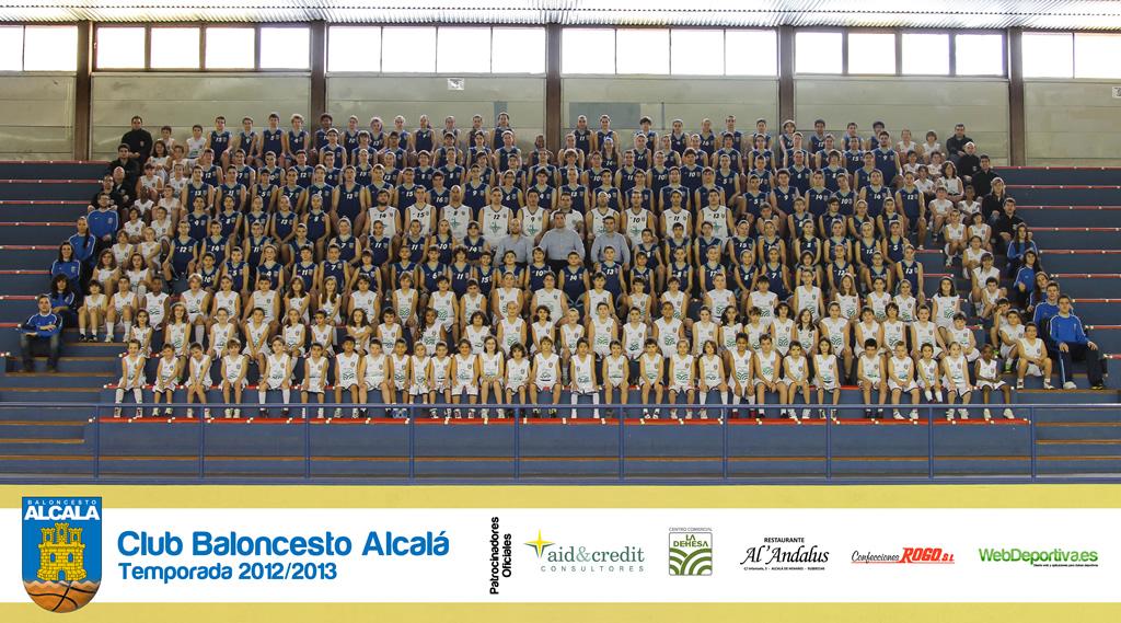 Club Baloncesto Alcalá - Foto Oficial 2012/2013