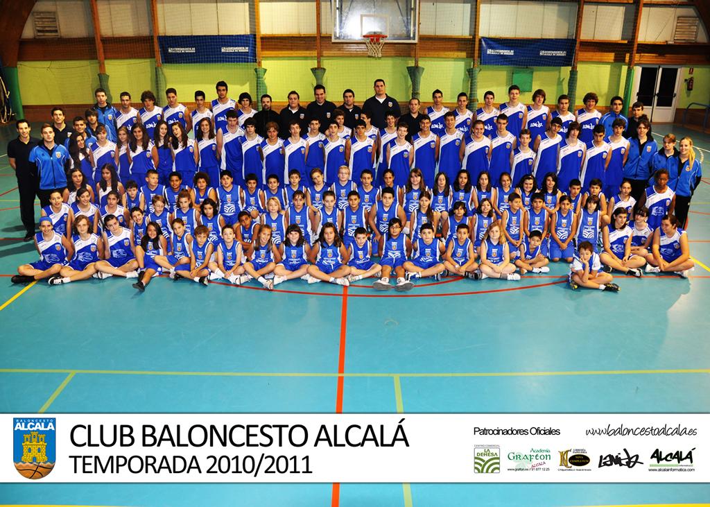 Club Baloncesto Alcalá - Foto Oficial 2010/2011