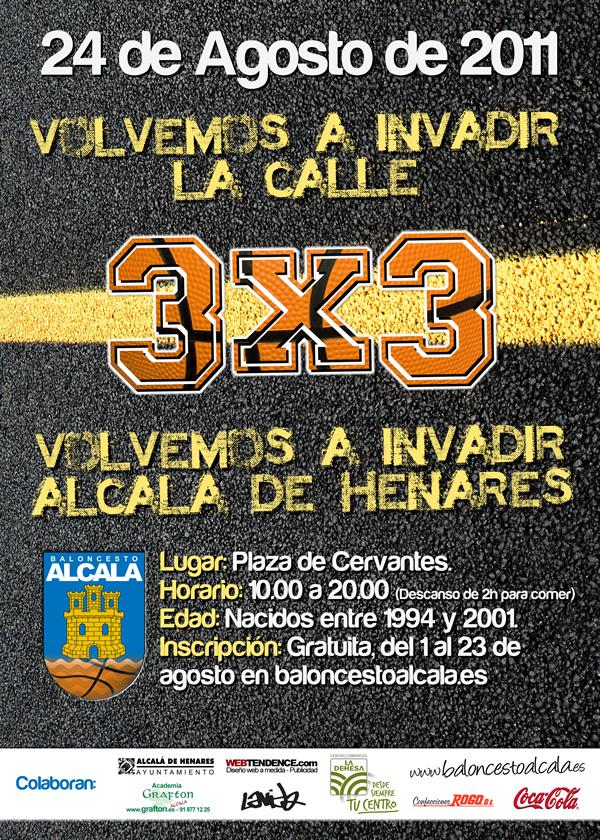 3x3 Ferias y Fiestas de Alcalá de Henares 2011