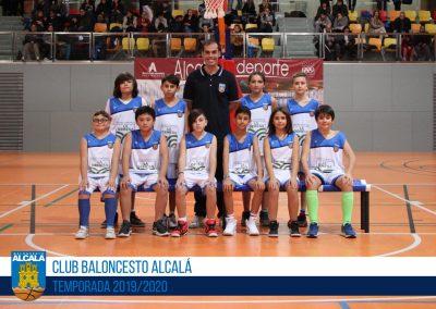 AL BALONCESTO ALCALÁ BLANCO - ESCUELAS BALONCESTO ALCALA 2019-2020