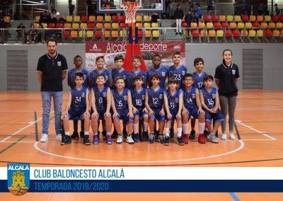 ALEVÍN 09 MASCULINO BALONCESTO ALCALA 2019-2020