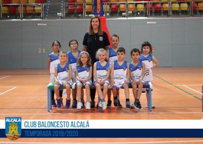 BB4 CBA LUIS VIVES - ESCUELAS BALONCESTO ALCALA 2019-2020