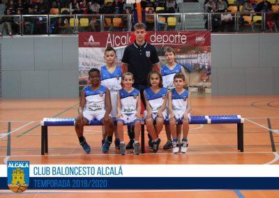 BE BALONCESTO ALCALÁ AZUL - ESCUELAS BALONCESTO ALCALA 2019-2020