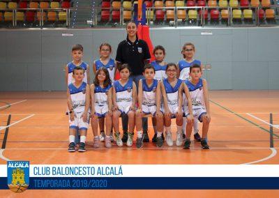 BE BALONCESTO ALCALÁ BLANCO - ESCUELAS BALONCESTO ALCALA 2019-2020