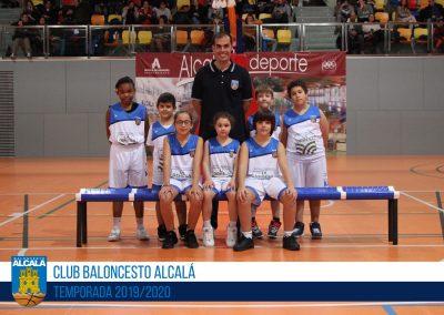 BE CBA DAOIZ Y VELARDE - ESCUELAS BALONCESTO ALCALA 2019-2020