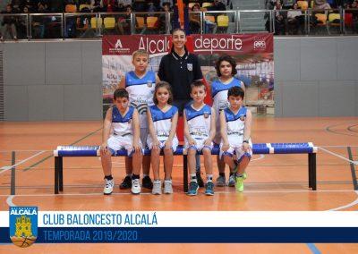 BE CBA LUIS VIVES - ESCUELAS BALONCESTO ALCALA 2019-2020