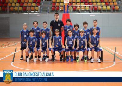 BENJAMÍN 10 MASCULINO BALONCESTO ALCALA 2019-2020