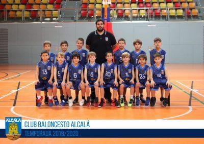 BENJAMÍN 11 MASCULINO BALONCESTO ALCALA 2019-2020