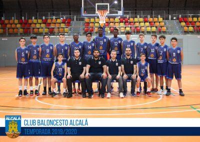 CADETE ESPECIAL MASCULINO BALONCESTO ALCALA 2019-2020