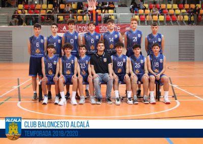 CADETE PREFERENTE BLANCO MASCULINO BALONCESTO ALCALA 2019-2020