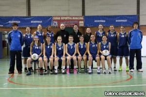 Cadete A Femenino 2012-2013 [www.baloncestoalcala.es]