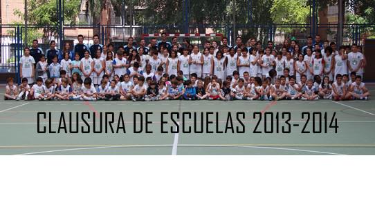 Clausura de Escuelas 2013/2014