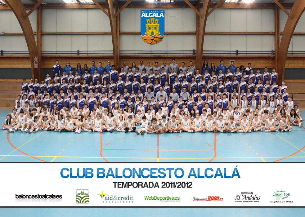 Club Baloncesto Alcalá - Foto Oficial 2011/2012