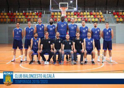 EBA BALONCESTO ALCALA 2019-2020
