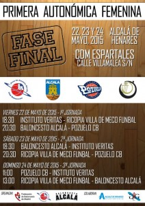 Fase Final Autonomica Femenina 2015