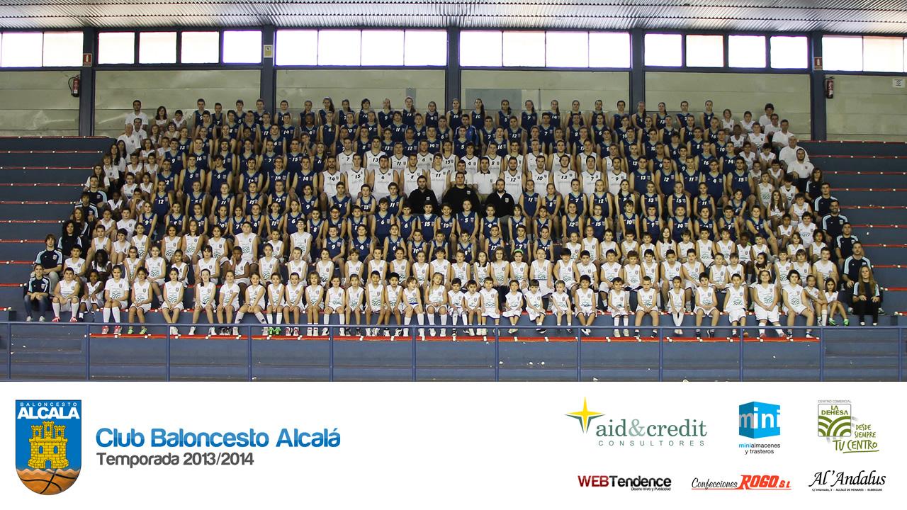 Club Baloncesto Alcalá - Foto Oficial 2013/2014