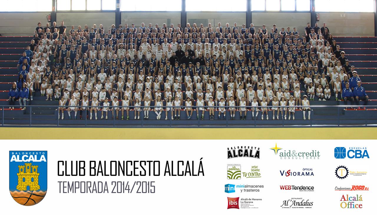 Club Baloncesto Alcalá - Foto Oficial 2014/2015