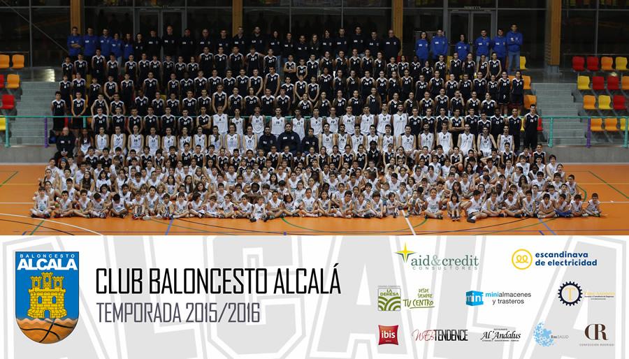 Club Baloncesto Alcalá - Foto Oficial 2015/2016