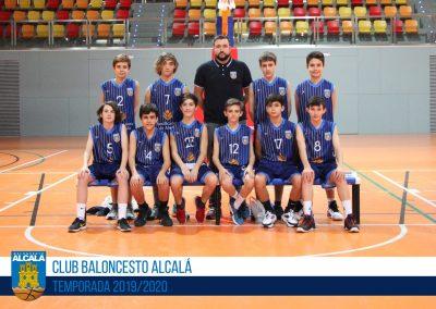 INFANTIL PREFERENTE MASCULINO BALONCESTO ALCALA 2019-2020