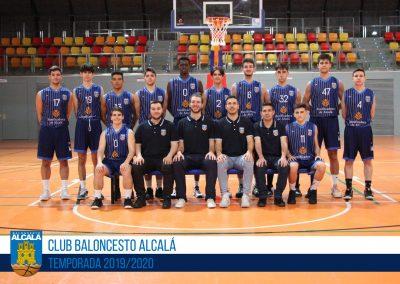 JUNIOR ESPECIAL MASCULINO BALONCESTO ALCALA 2019-2020
