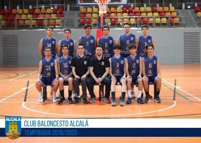JUNIOR PREFERENTE MASCULINO BALONCESTO ALCALA 2019-2020