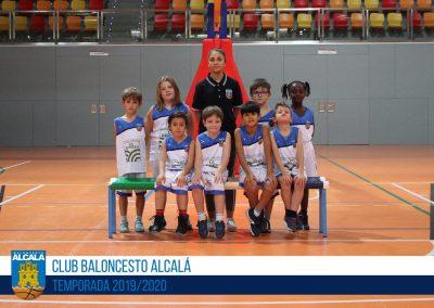 PB BALONCESTO ALCALÁ BLANCO - ESCUELAS BALONCESTO ALCALA 2019-2020