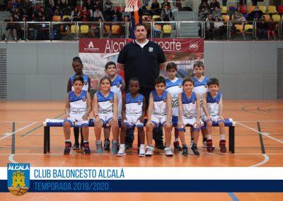 PB BALONCESTO ALCALÁ - ESCUELAS BALONCESTO ALCALA 2019-2020