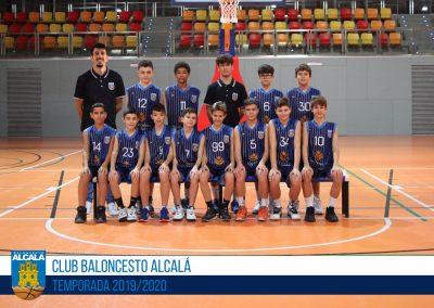 PREINFANTIL AZUL MASCULINO BALONCESTO ALCALA 2019-2020