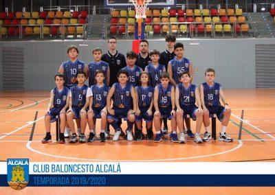 PREINFANTIL BLANCO MASCULINO BALONCESTO ALCALA 2019-2020