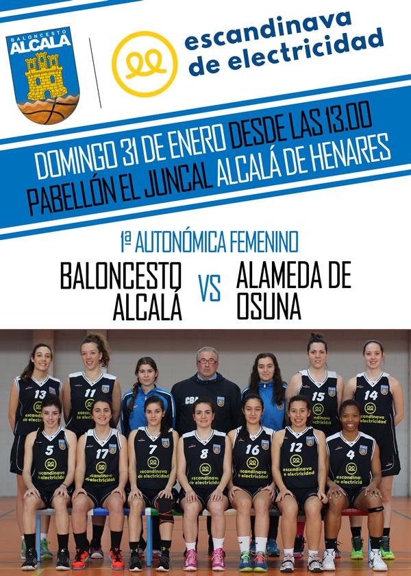 Escandinava de Electricidad ficha por Baloncesto Alcalá