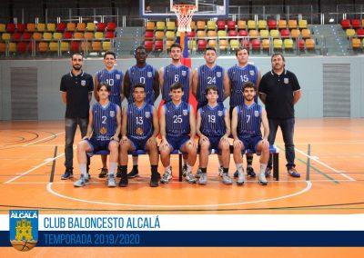 SUB22 MASCULINO BALONCESTO ALCALA 2019-2020