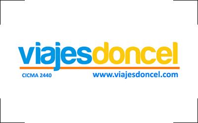 Logo Viajes Doncel